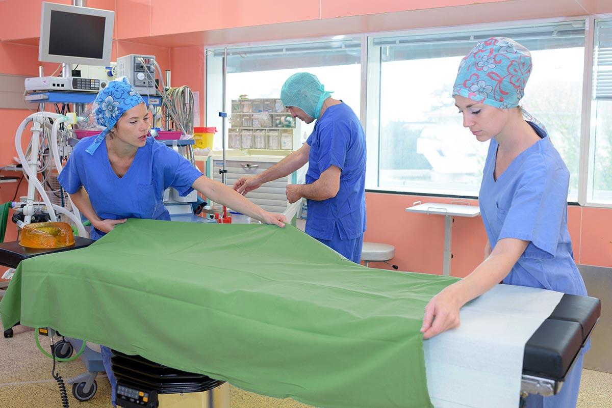 Superior Health Linens hospital linens