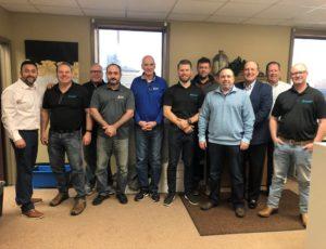 Healthcare Linen Services Group management team photo